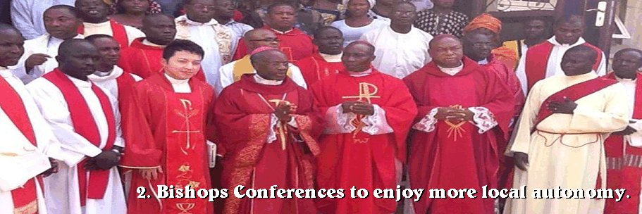 They elect members to the Central Synod of Bishops.